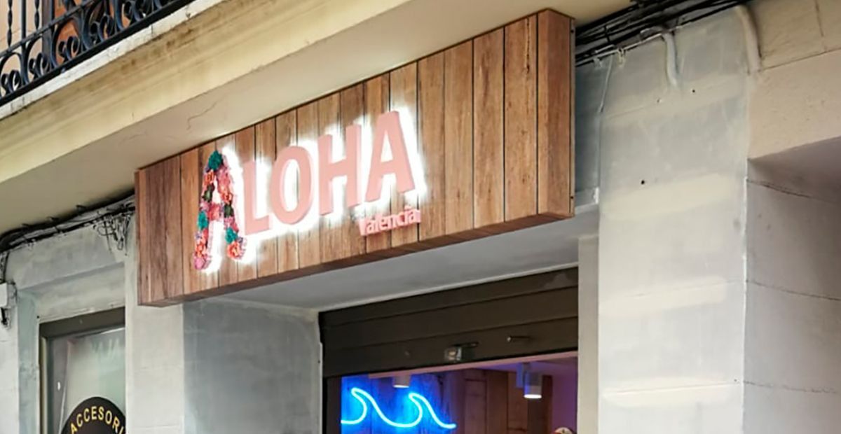 PVC luz Aloha