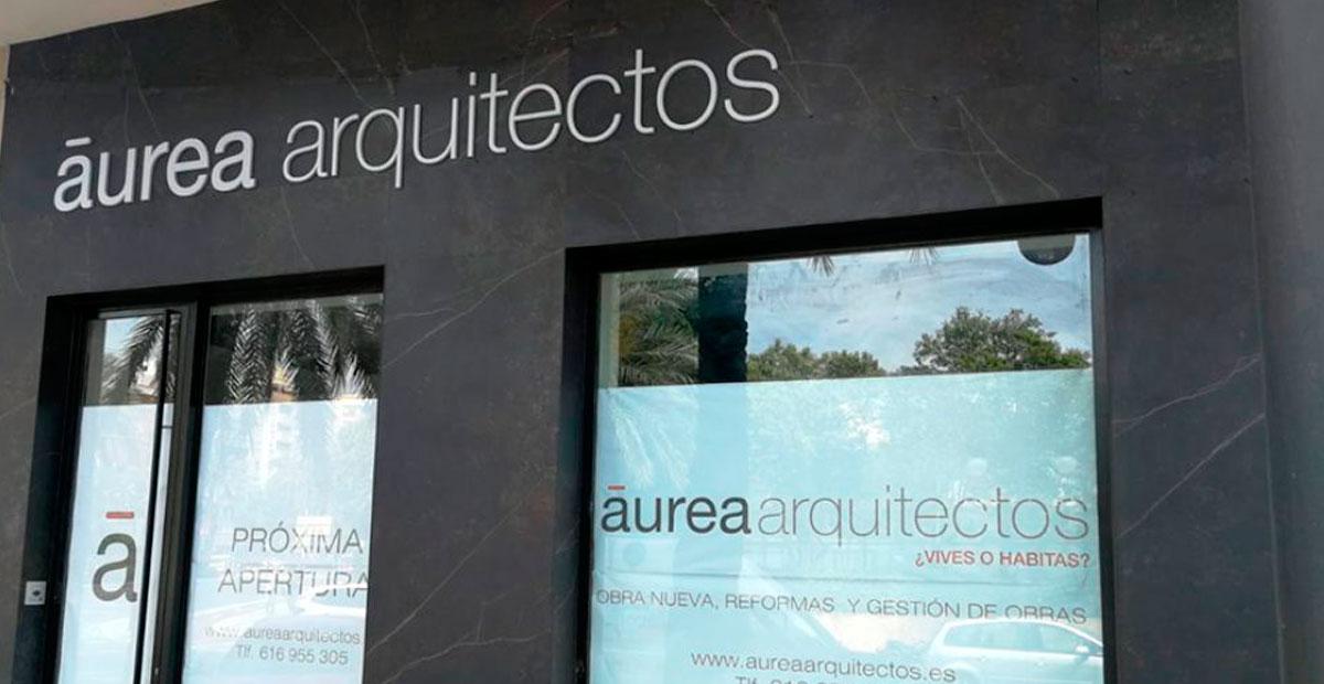 Rótulo Arquitectos Aurea